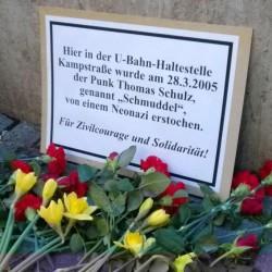 """Blumen für Thomas """"Schmuddel"""" Schulz"""