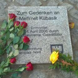 Gedenkstein eines der Opfer des NSU