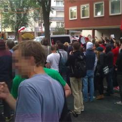 Bild einer Demo gegen Nazis in Dortmund
