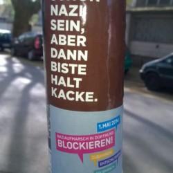 Du kannst schon Nazi sein, aber ...