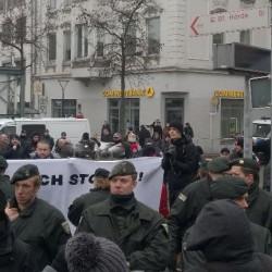 Blockade in Hörde an Silvester 2014