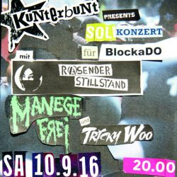 Flyer BlockaDo Solikonzert